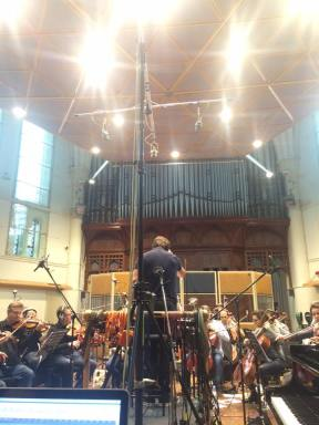 Recording in the Hall, AIR Studios