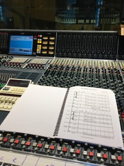 Control room at Angel Studios, Studio 1