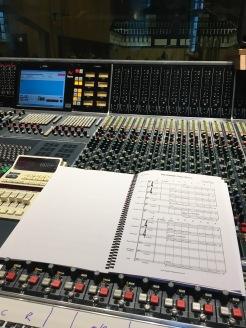 Control room at Angel Studios, Studio 1