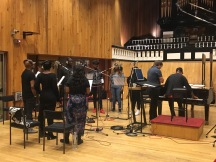 Gospel Choir session at Angel Studios, Studio 1