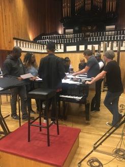 Gospel Choir session at Angel Studios, Studio 1