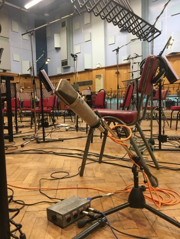 U87 Mic, First desk of cellos